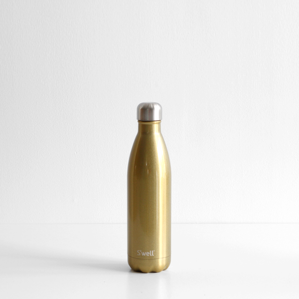 S'Well 500ml Stainless Steel Bottle - Sparkling Champagne