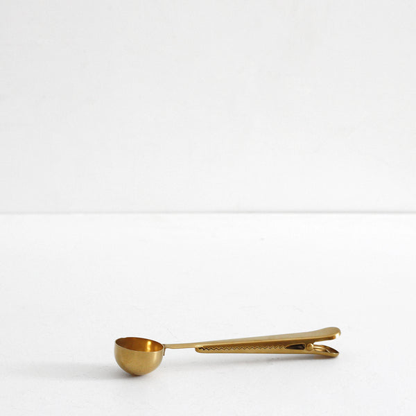 Tea Clip Spoon - Gold