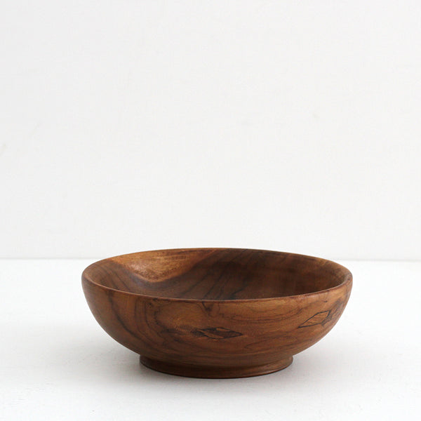 Teak Wooden Bowl - Large