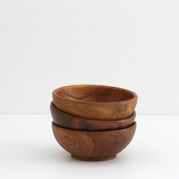 Teak Wooden Bowl - Medium
