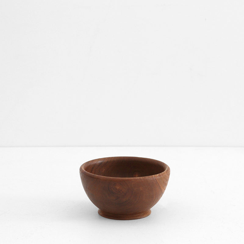 Teak Wooden Bowl - Small
