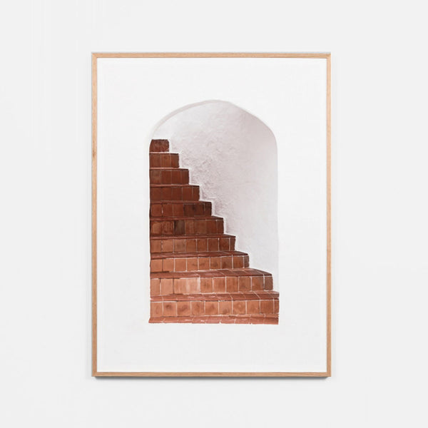 Terracotta Stairs Artwork