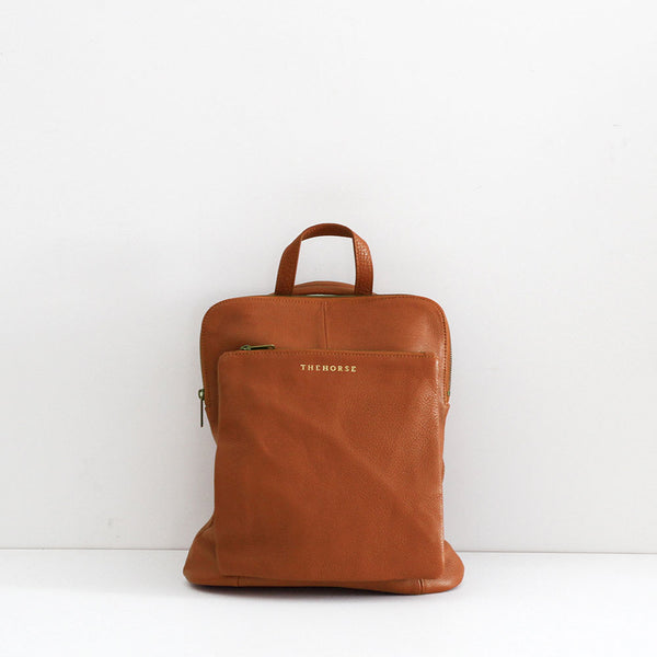 The Soft Backpack - Tan