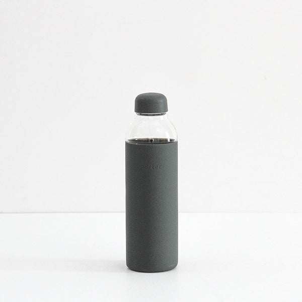 The Porter Water Bottle - Charcoal