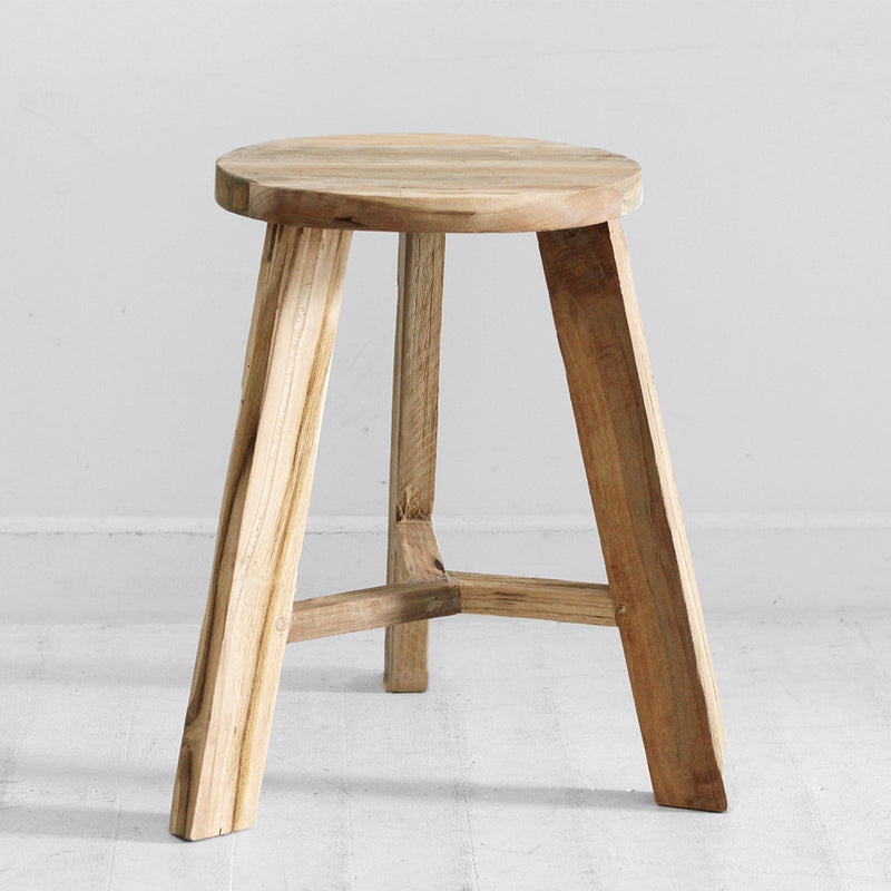 Timothy Teak Stool - Natural