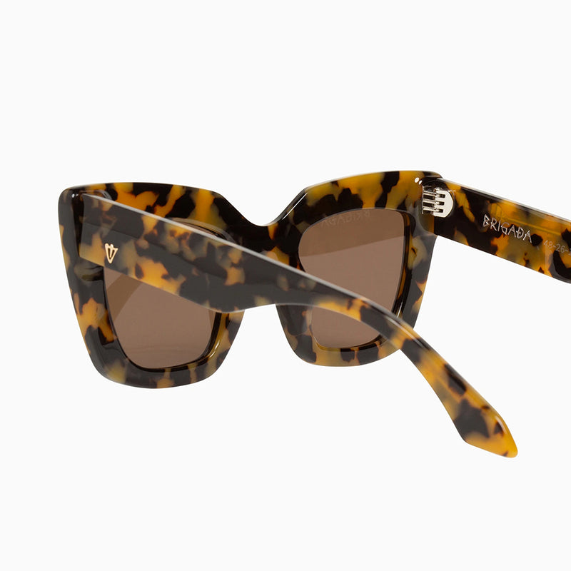 Brigada Sunglasses - Yellow Tort