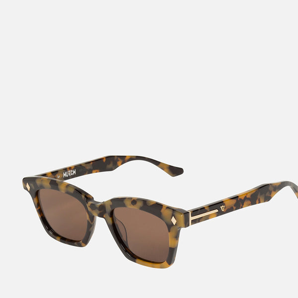 Hutch Sunglasses - Yellow Tort