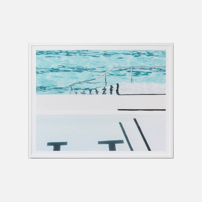 Ocean Baths Framed Art