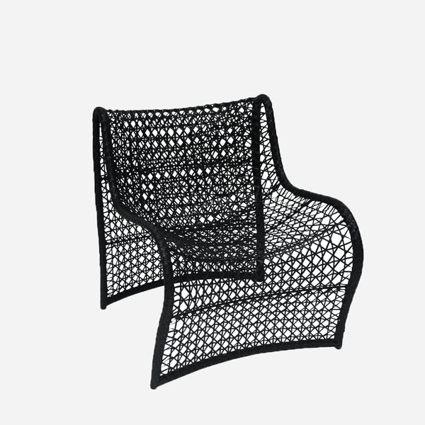Wave Outdoor Chair - Black