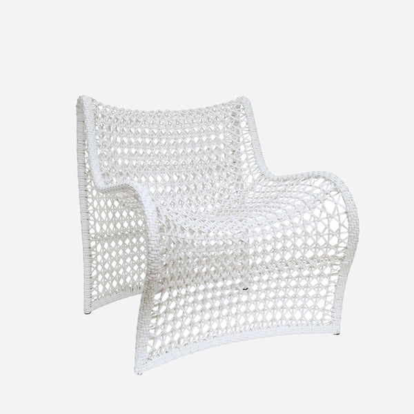 Wave Outdoor Chair - White