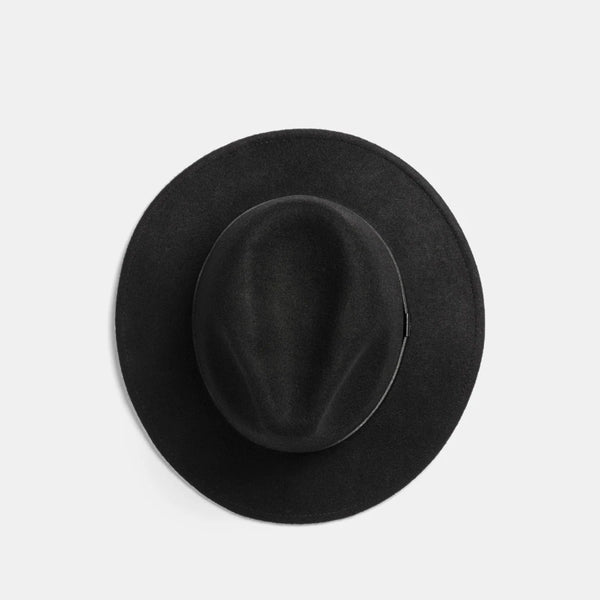 William Wool Fedora - Black