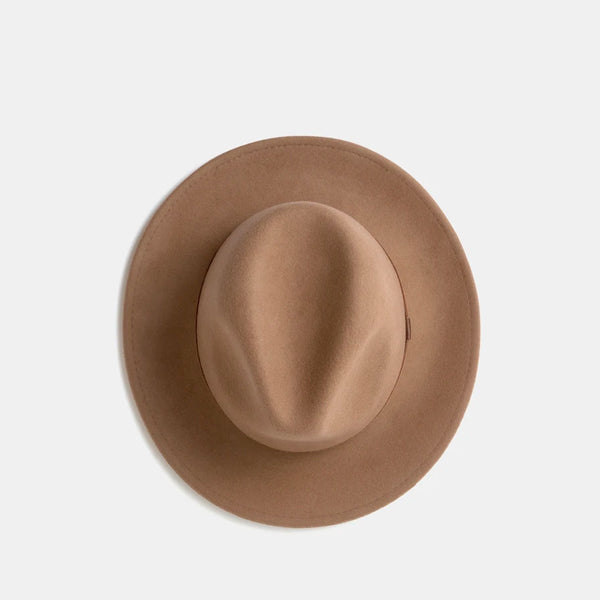 William Wool Fedora - Oak