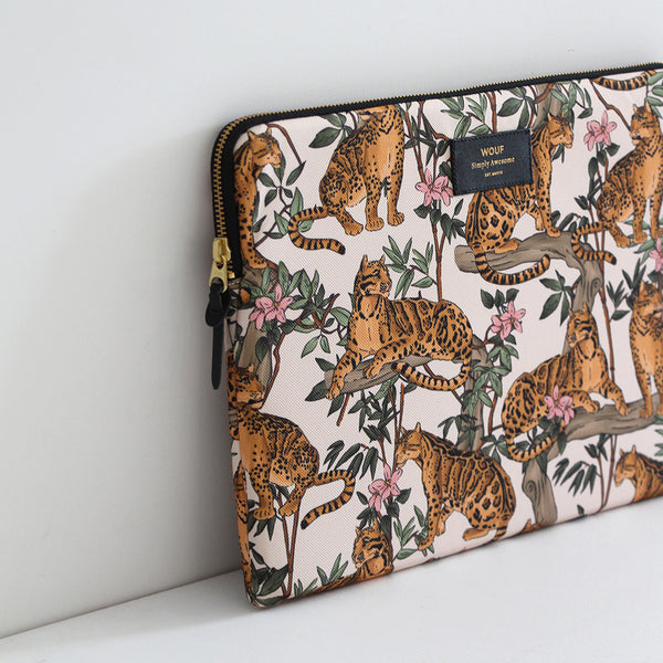 Wouf: Laptop Sleeve Lazy Jungle