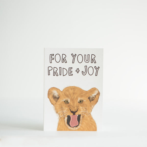 Your Pride and Joy Card