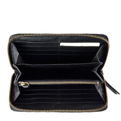 Delilah Wallet - Black Fur