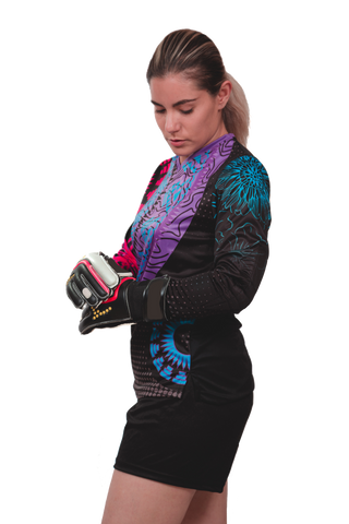Alexa Girls/Women Goalkeeper Jersey