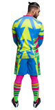 Brody II (Jorge Campos) Goalkeeper  Kit.  New Free Socks!