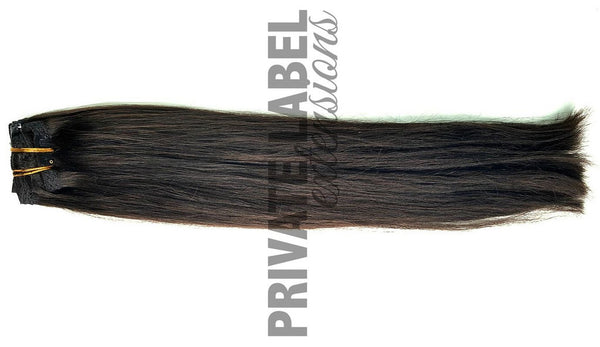 Natural Brown Clip-in