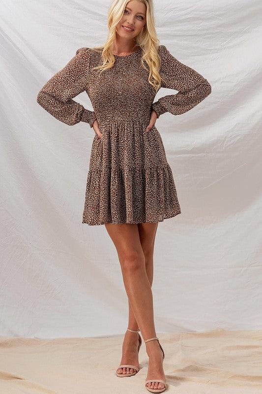 Mocha Distressed Sweater