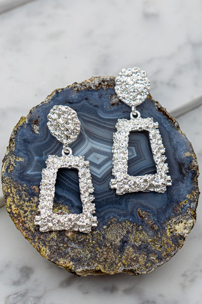 See Me Sparkle Earrings - Silver