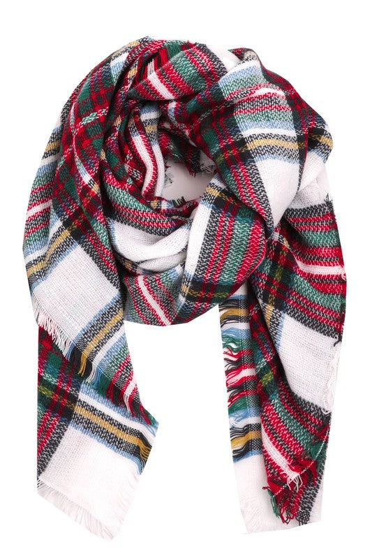 Feeling Plaid Scarf