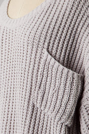 Just Relax Sweater - Gray