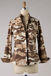 Sprinkle Camo All Over Jacket