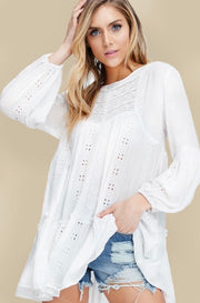 White Dove Casual Top