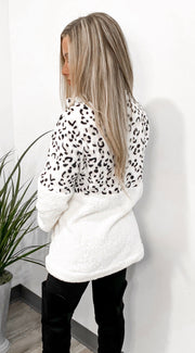Cozied Up In Prints Pullover - Stella Clothing Boutique