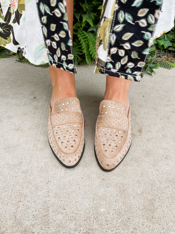 Molly Ann's Studded Mules
