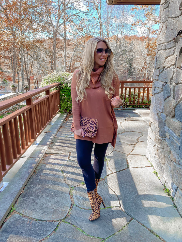 Chocolate Latte Tunic - Stella Clothing Boutique
