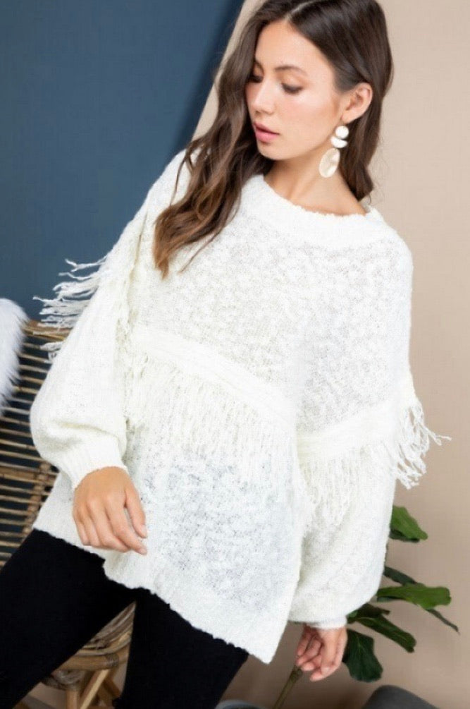 Feather Like Sweater