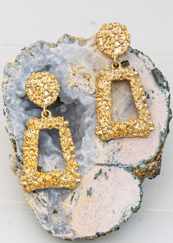 See Me Sparkle Earrings - Gold