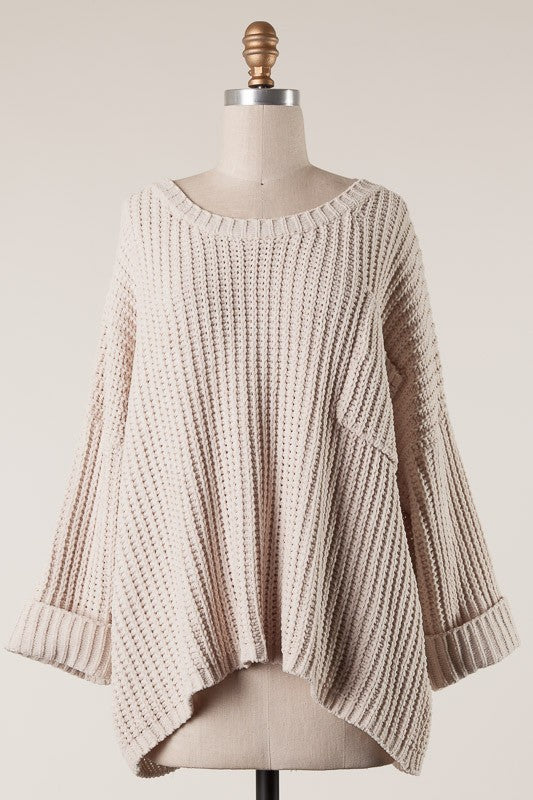 Just Relax Sweater - Beige
