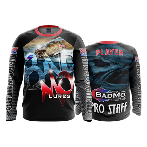 "2018 BADMO LURE CO. ""PRO STAFF"" Long Sleeve Shirt"
