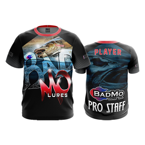 "2018 BADMO LURE CO. ""PRO STAFF"" Short Sleeve Shirt"