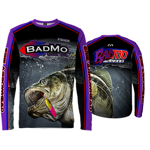 2017 BADMO LURE CO.  LONG SLEEVE SHIRT
