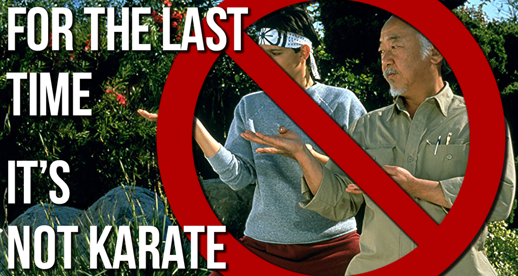 For The Last time, I Dont Do Karate: An Open Letter