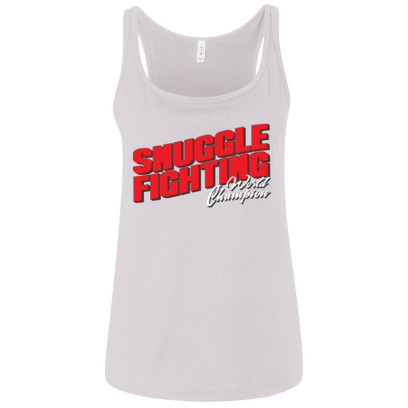 Snuggle Fighting - World Champ - Women's Tank - BJJ Problems