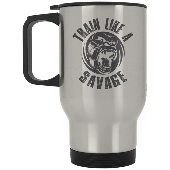 Train Like A Savage - Travel Mug - BJJ Problems