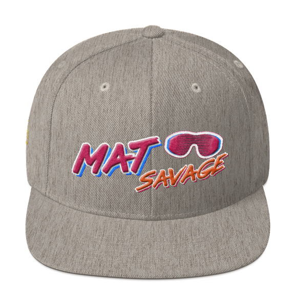 Mat Savage - Snapback Hat - BJJ Problems