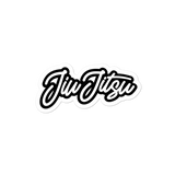 "Handwritten ""Jiu Jitsu"" - Die Cut Sticker - 3 sizes - BJJ Problems"
