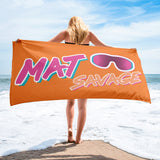 Mat Savage - Gym/Beach Towel - BJJ Problems