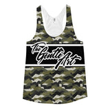 The Gentle Art - Camo Tank Top - Women's - BJJ Problems
