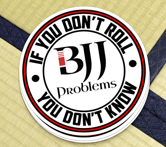 BJJ Problems Logo - Sticker - BJJ Problems