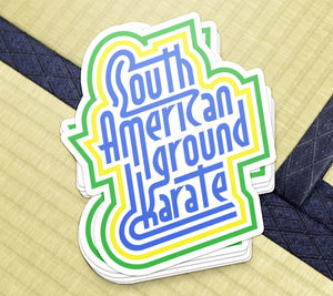 South American Ground Karate - Sticker - BJJ Problems