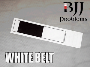 BJJ Problems Ranked Stickers - BJJ Problems