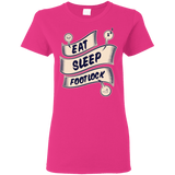 Eat. Sleep. Footlock - Women's T-Shirt - BJJ Problems