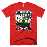 I Fight In Pajamas - Men's T-Shirt - BJJ Problems