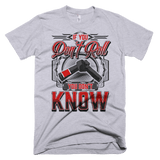If You Don't Roll - You Don't Know - Men's T-Shirt - BJJ Problems